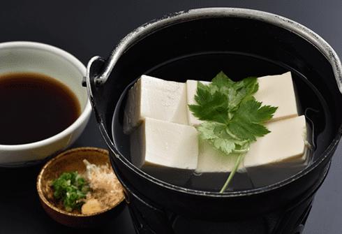 京の湯豆腐鍋(一人前・半丁)